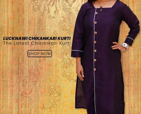 Khadi Cotton Kurtis – Blend of Ethnic Fashion