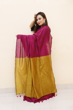 Dyeing - The Art of Breathing Life in a Handloom Saree