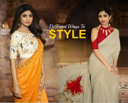 Know different ways to style a linen saree in 2021