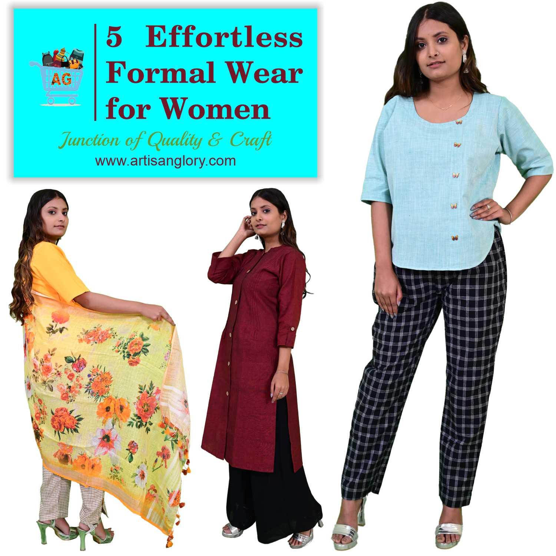 5 Effortless Formal Wear for Women